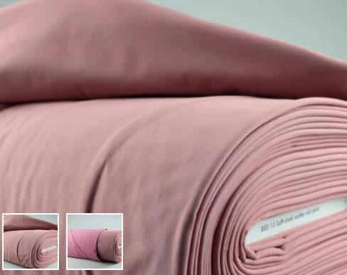 PĀRDOTA.Rudens jaunumiņš/Pelnu rozā tonī kleita ar pelēku mežģīni. 38/40 izm.