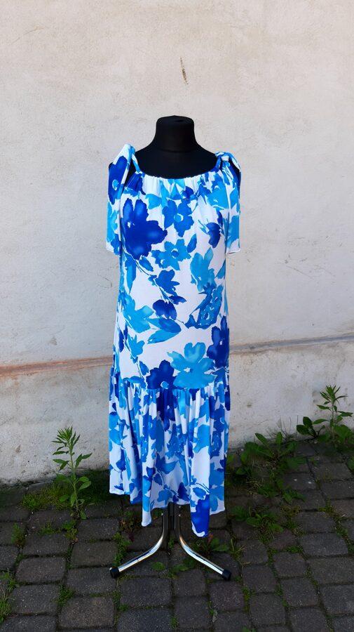 PĀRDOTA.Sieviešu vasaras kleita ar ziediem.
