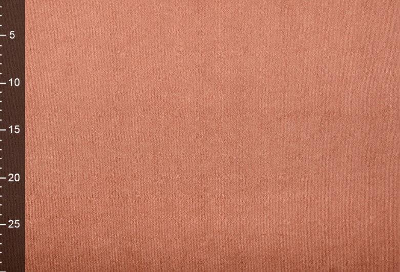 Smalks velveta audums Brique