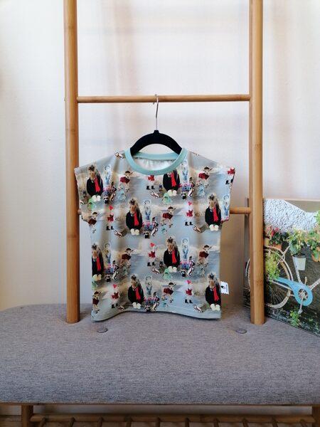Kokvilnas trikotāžas t-krekls ''Pasaka''. 80 - 128 izm.