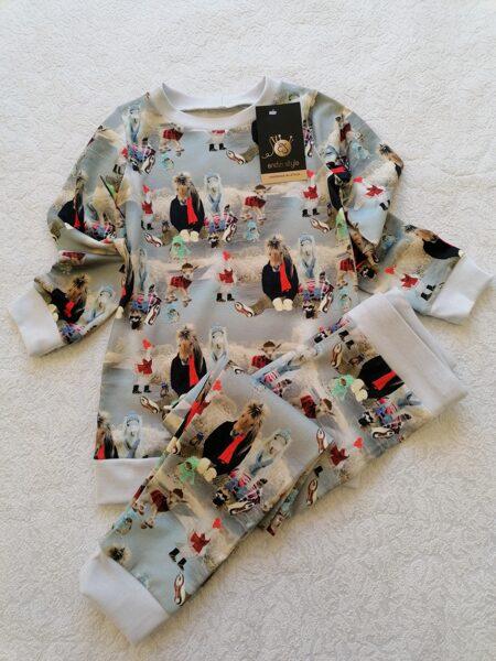 Bērnu pidžamma . ''Zirdziņš.'' 74 izm. - 134 izm.